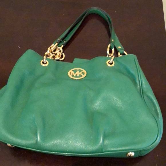 86e9bce839b1 Emerald green Michael Kors bag. M_5a5cfc343afbbd3a4ceeb957